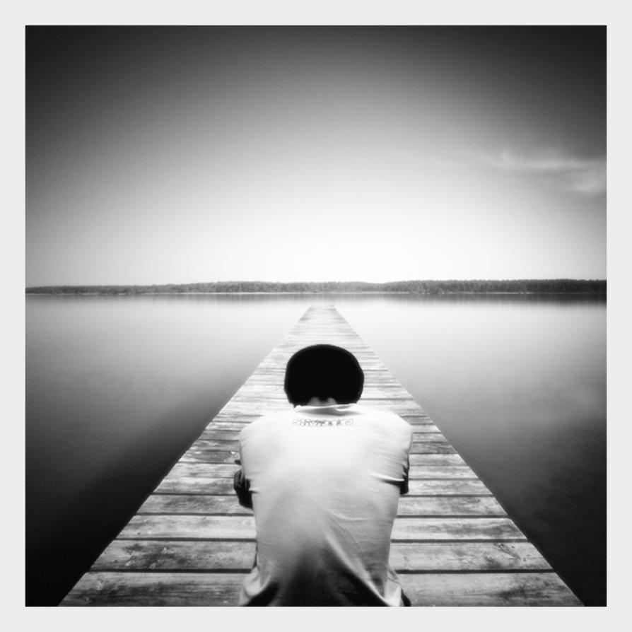 la soledad de un hombre solo
